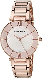 Anne Klein Women's Swarovski Crystal Bracelet Watch