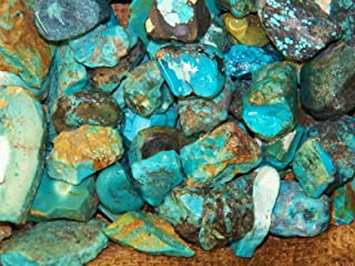 1 Pck of 1000 Carat Lots of Old Stock Kingman, AZ Turquoise Rough - HIGH END