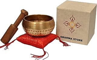 Dharma Store - Tibetan Singing Bowls Set - Meditation Yoga Healing Relaxation Therapy - Himalayan Bowl