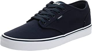 Vans Men's Atwood Trainers, Canvas Navy White, 9 UK