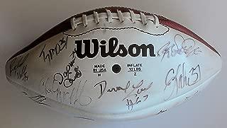 Rare Official 1995 Wilson Hawaii Pro Bowl AFC Team Signed Football By 27 JOHN ELWAY (HOF) Drew Bledsoe ROD WOODSON Bruce Mathews BRUCE SMITH Kevin Greene GREG LLOYD with Full PSA/DNA LOA