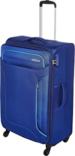 حقيبة السفر الكبيرة الناعمة للعطلة من American Tourister باللون الكحلي، تدور 80 سم