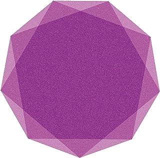 alfombra protectora silla oficina, Protector De Piso Para Escritorios, Oficina Y Hogar, Tapete Antideslizante, Silencioso, Resistente Al Desgaste, Fácil De Limpiar(Color:púrpura,Size:100cm(39.4in))
