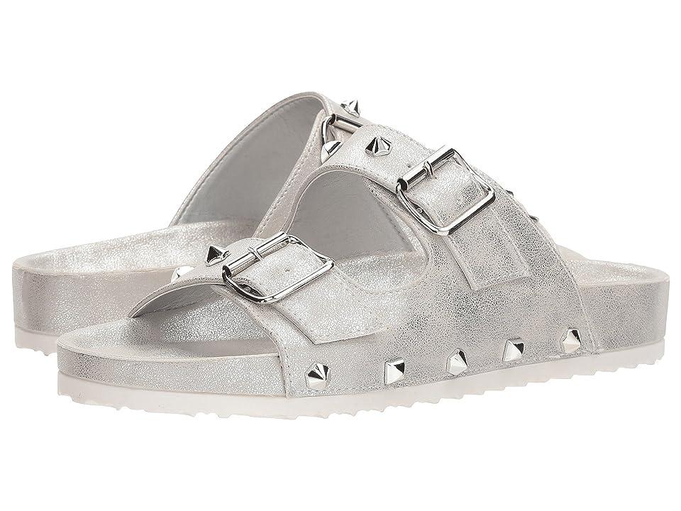 Dirty Laundry Quinn Slide Sandal (Silver Shimmer) Women