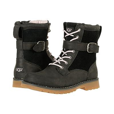 UGG Kids Koren (Little Kid/Big Kid) (Black) Kids Shoes