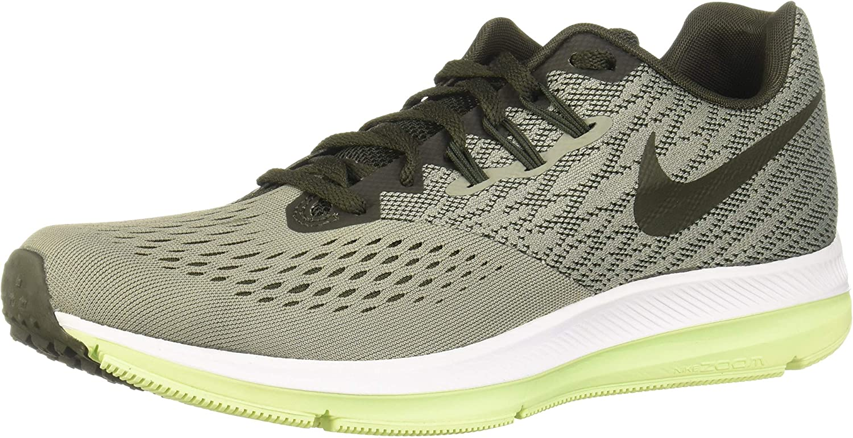 Nike Herren Zoom Winflo 4 Fitnessschuhe Schwarz/Weiß-Dunkelgrau, 11.5 EU B0711K3LJ1  | Rich-pünktliche Lieferung