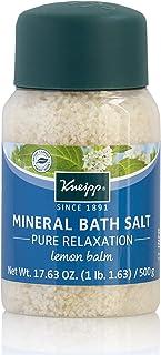Kneipp Mineral Bath Salt Pure Relaxation Lemon Balm, 17.63 Oz