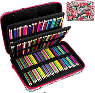 Large Pencil Storage Case - Holds 240+ Colored Pencils, Pencil Bag Compatible with Prismacolor Colored Pencils,Watercolor ...