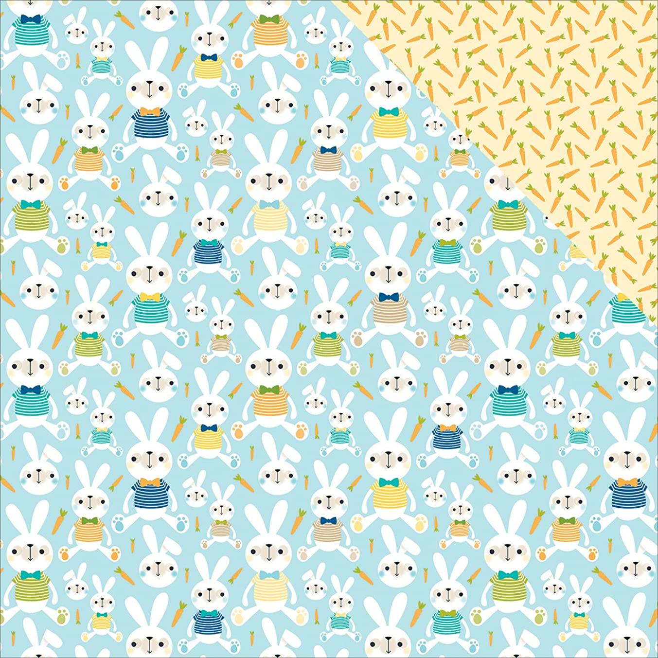 Bella Blvd 1109 Sweet Spring Double-Sided Cardstock (25 Sheet Per Pack), 12