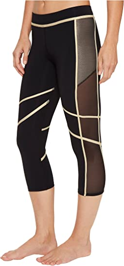 Warrior Spirit Mesh Side Capri