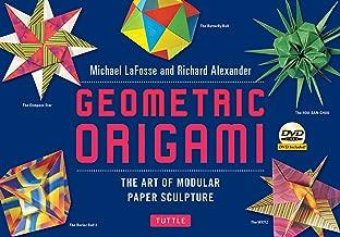 Geometric Origami Kit: The Art of Modular Paper Sculpture