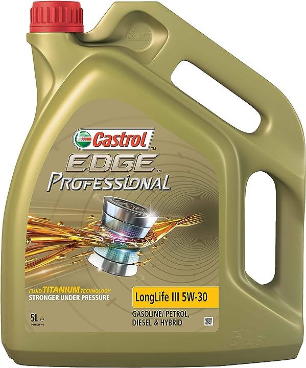 Olio motore castrol edge professional ll iii 5w-30 5 litri 157EA5