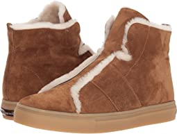 Basket High Suede and Fleece Sneaker