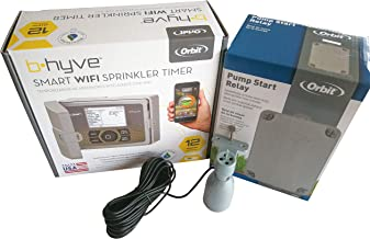 Orbit B-Hyve 12 Station WiFi Irrigation Controller & Pump Start Relay,Free Rain Sensor