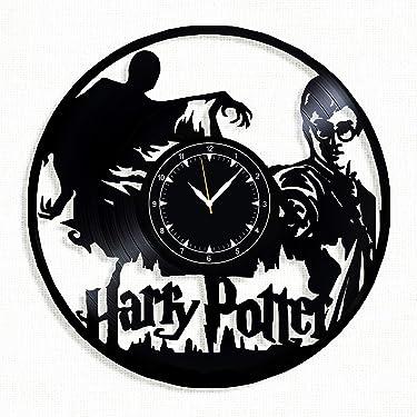 Harry Potter Vinyl Clock - Harry Potter Wall Clock - Best Gift for Fans Harry Potter - Original Wall Home Decor