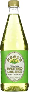 Rose's Lime Juice, 25-Ounce Bottles (Pack of 3)