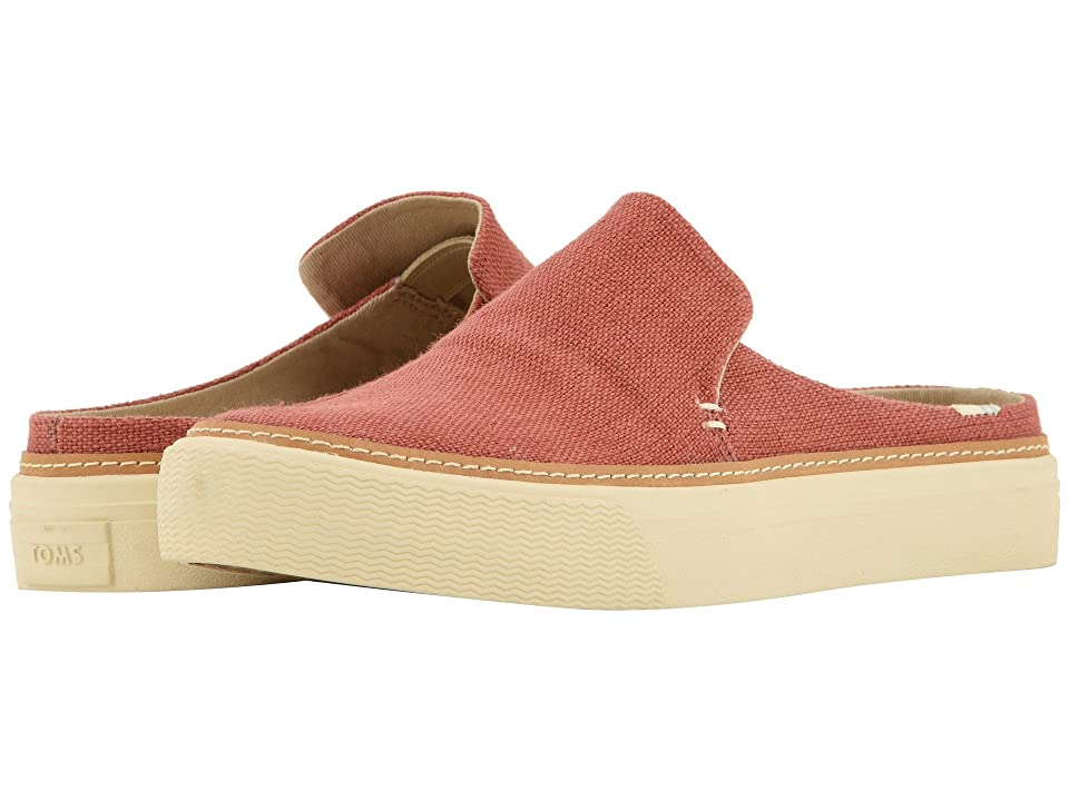 TOMS Sunrise (Spice Heritage Canvas) Women's Slip on Shoes