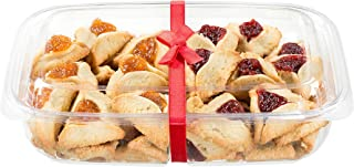 Purim Cookies Filled with Raspberry and Apricot Filling | Hamentaschen Cookie Gift | Shalach Manot -Purim Gifts Idea | Dairy & Nut Free | Delicious & Gourmet Hamentashen | 22 oz Stern's Bakery