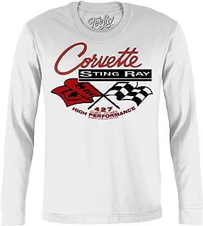 Chevy Corvette Shirt Long Sleeve - Chevrolet Corvette Stingray T-Shirt