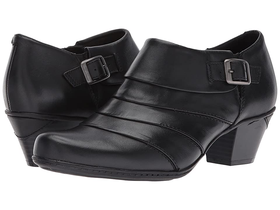 Earth Dawn (Black Full Grain Leather) High Heels