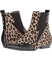 BELSTAFF - Embleton Leopard Patent Mix Boot