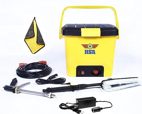 HSR Portable High Pressure 16 LTR Car Bike Home Garage Water Flowers Wash Doors and Windows Clean Floors Washer Machine