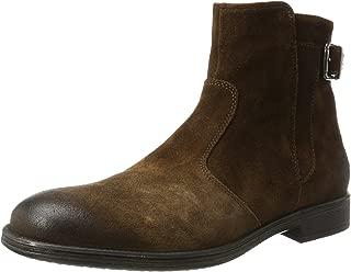 U Jaylon A Mens Suede Leather Ankle Boots/Shoes