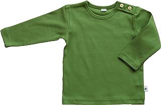 e8b23cfb94 Baby Kinder Langarmshirt Bio-Baumwolle GOTS 13 Farben T-Shirt Shirt Jungen  Mädchen Gr