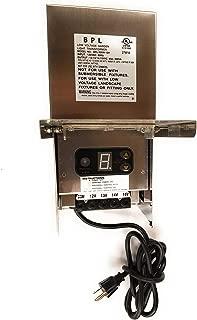 300W Stainless Steel Multi Tap 12V-15V Low Voltage Landscape Light Transformer