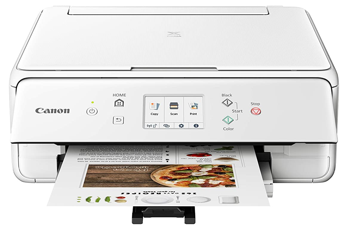 Canon PIXMA TS6220 Wireless All in One Printer with Mobile Printing, White