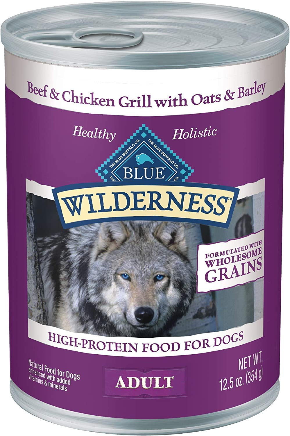 Blue Buffalo Wilderness High Fort Worth Mall Protein Natural Wet Dog Adult Max 55% OFF Food