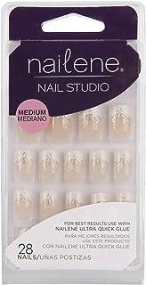 Nailene Nail Studio, Medium, Package of 28 Nails