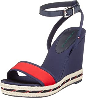 Tommy Hilfiger SPORTY TEXTILE HIGH WEDGE womens Women Fashion Sandals