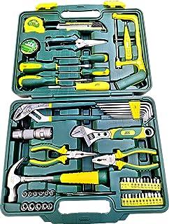 أدوات يدوية منزلية عامة في حقيبة تخزين محمولة مجموعة أدوات أدوات أدوات يدوية ميكانيكية (مجموعة من 22 قطعة)