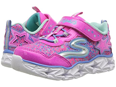 dbcd4372e673 SKECHERS KIDS Galaxy 10920N Lights (Toddler) at Zappos.com