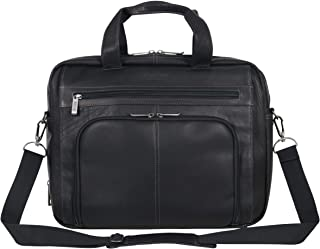 "Kenneth Cole REACTION unisex-adult Kenneth Cole Reaction Manhattan Leather Expandable RFID 15.6"" Laptop Business Case Lapt..."
