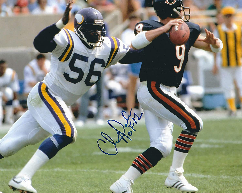 Autographed Chris Doleman 8X10 Photo Vikings 40% OFF Cheap Sale Large special price !! Minnesota