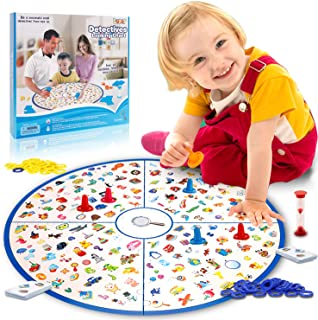 LUKAT Board Game, Matching Game Tabletop Game Large Board Fast Memory Game for Kids Toddlers 3,4,5,6,7 Years Old Early Educational Preschool Learning Toys Girls and Boys Gifts
