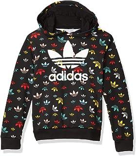 adidas Originals Men`s Culture Clash Cropped Hoodie Sweatshirt