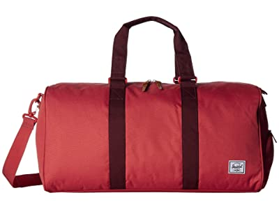 Herschel Supply Co. Novel Mid-Volume (Mineral Red/Plum) Duffel Bags