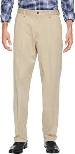 Comfort Khaki D3 Classic Fit Pleated Pants