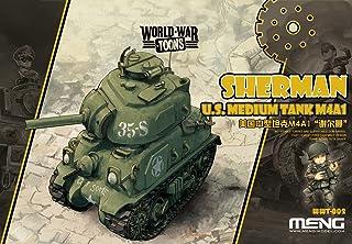 Meng WWT de 002–Maqueta de U.S. Medium Tank m4a1Sherman