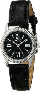 XOXO Womens Quartz Watch, Analog Display and Leather Strap XO3410