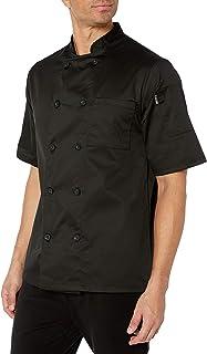 Chef Code Men's Short Sleeve Unisex Classic Chef Coat