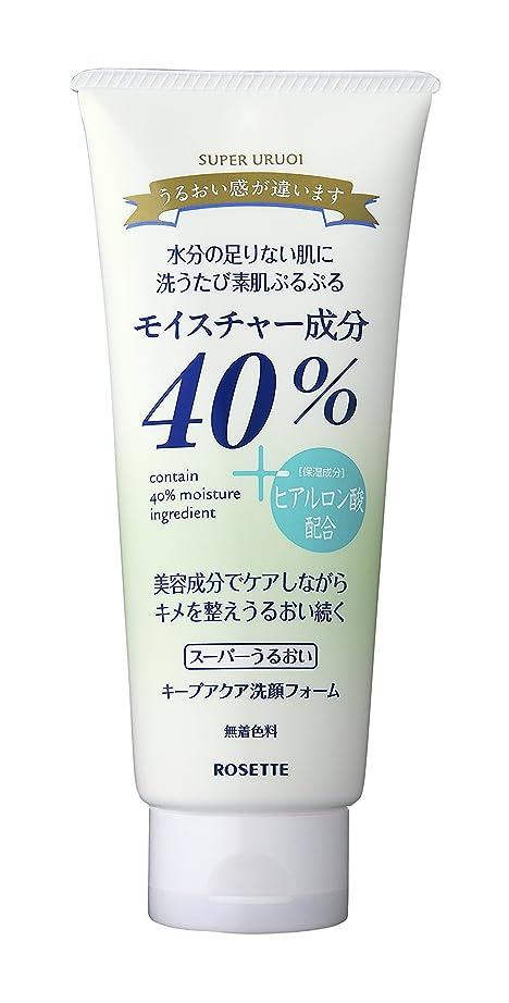 エッセンス残基フルーツ野菜40% スーパーうるおい キープアクア洗顔フォーム