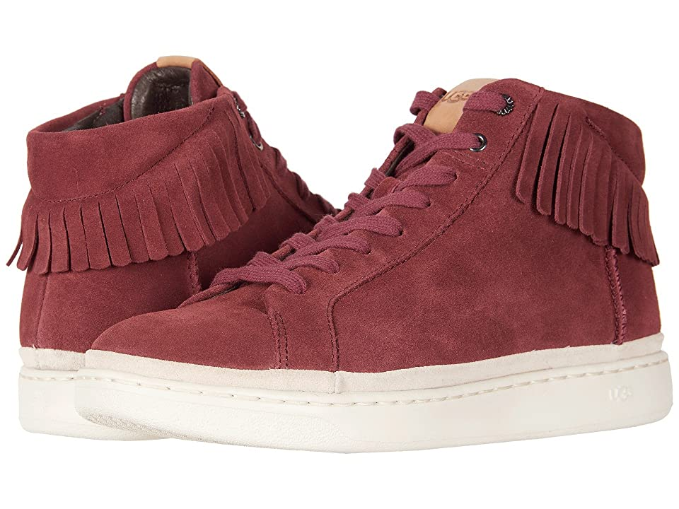 UGG Brecken Lace High Fringe (Pinot Noir) Men