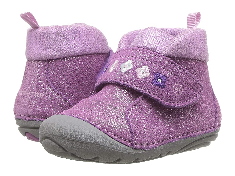 Stride Rite Soft Motion Sophie (Infant/Toddler) (Purple Suede) Girls Shoes
