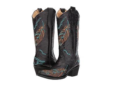 Corral Boots L5286 (Black) Cowboy Boots