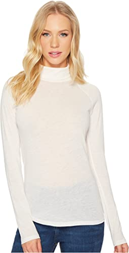 Eco-Gauze Debut Turtleneck