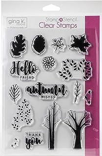 Gina K Designs GINAK K Stamp, Autumn Wishes, One Size